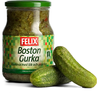 how to make gerkin relish