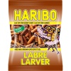 Haribo Labre Larver Sweet Licorice Caterpillars
