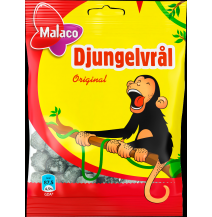 Malaco Djungelvrål Double Salted Licorice